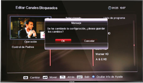 controlar programas decodificador Skyworth