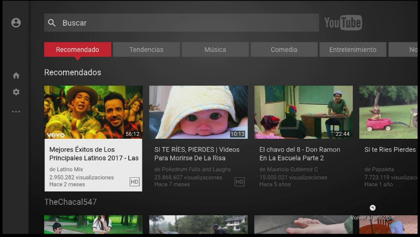 como utilizo youtube en one tv