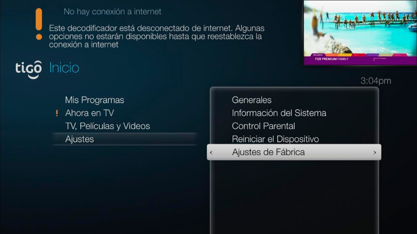 decodificador Tigo ONE tv