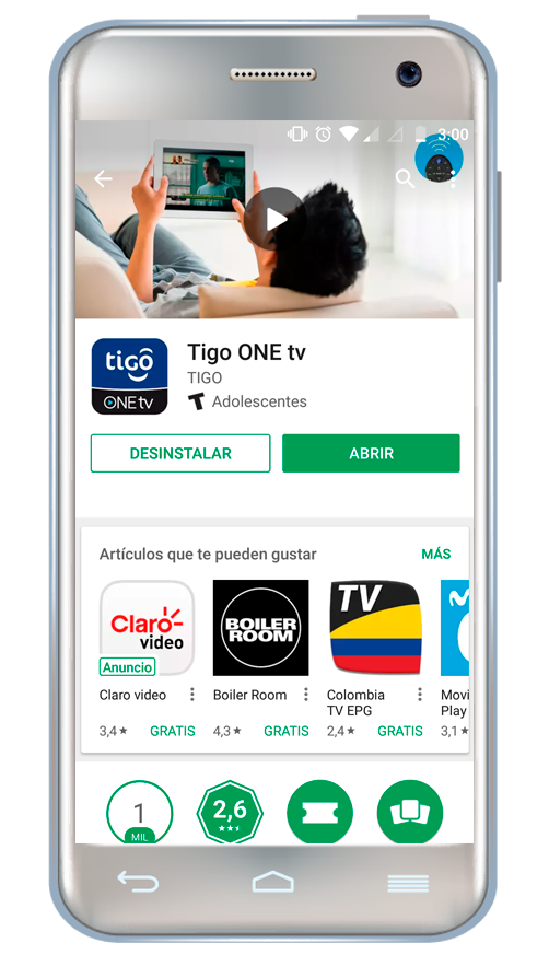 Cómo instalar Tigo One Tv en Android