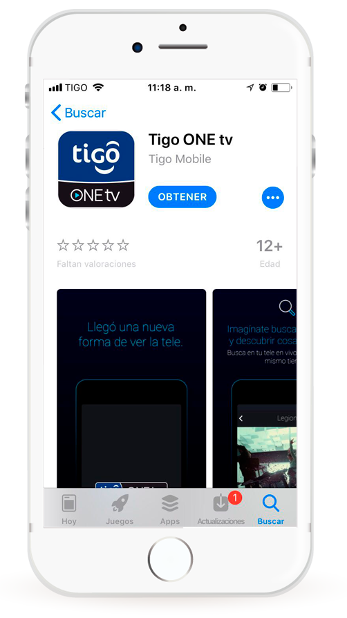 Cómo instalar Tigo One Tv para iOS