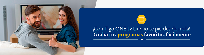 Tigo ONE tv Lite Programas