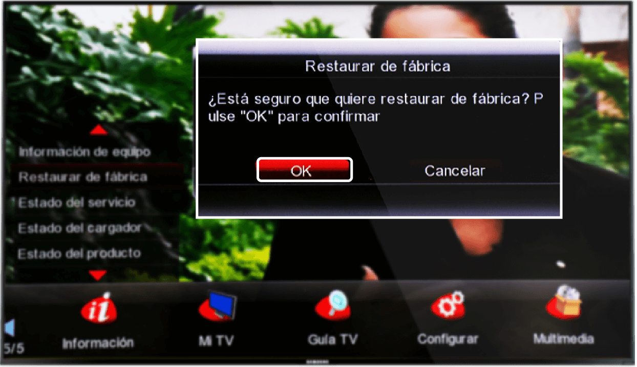 Ver los programas en decodificador Skyworth