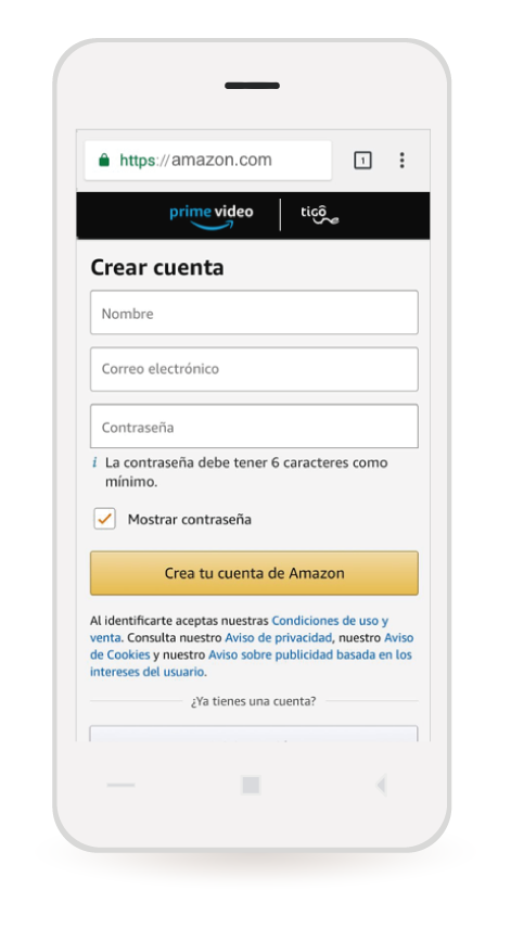 amazon prime video colombia