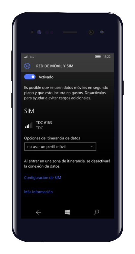 nokia 4g lte windows nuevo color