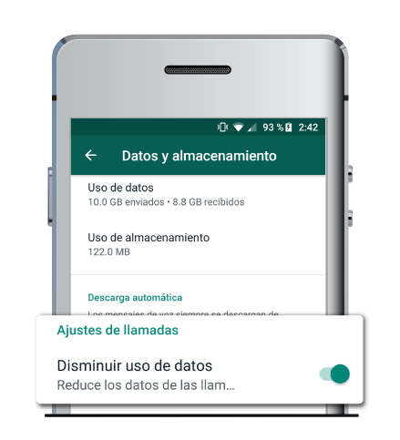 whatsapp ahorrar datos