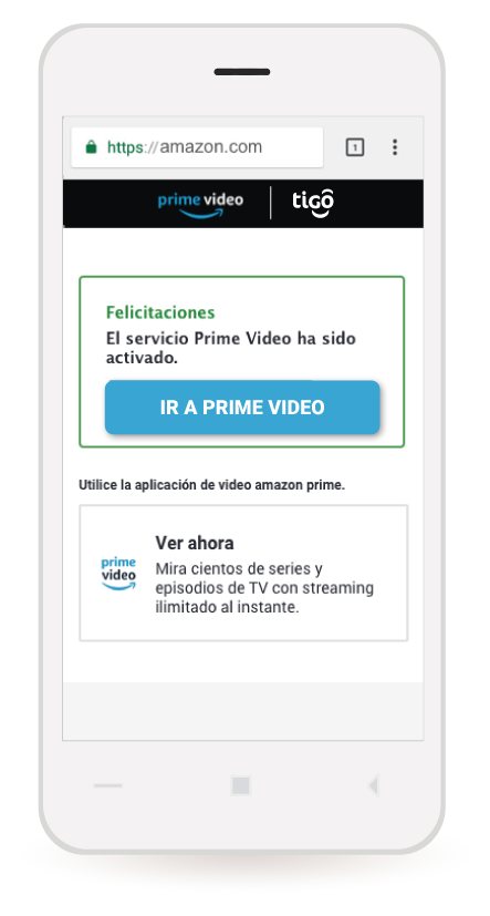 amazon video tigo