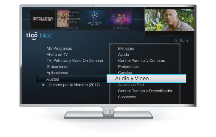 ajustes tigo one tv gateway