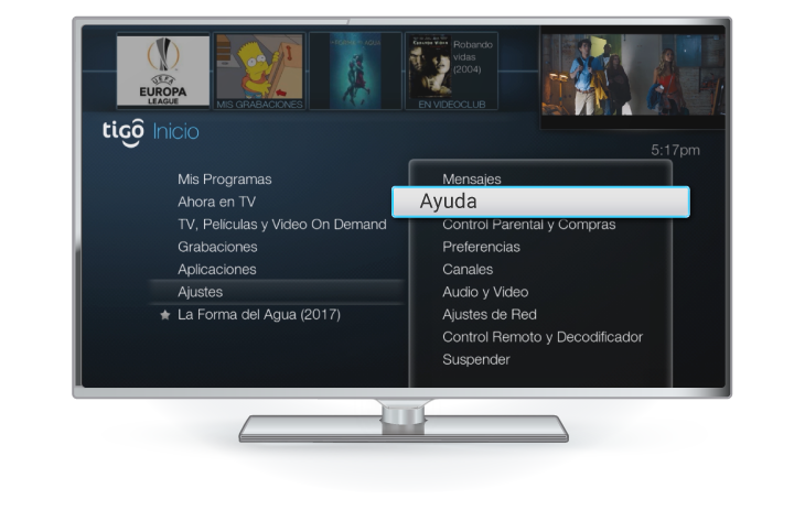 tigo une tv canales decodificador gateway