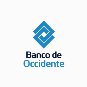 Logo Banco de Occidente pago factura Tigo
