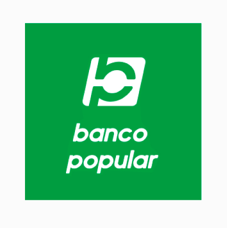 Logo banco popular pago factura Tigo