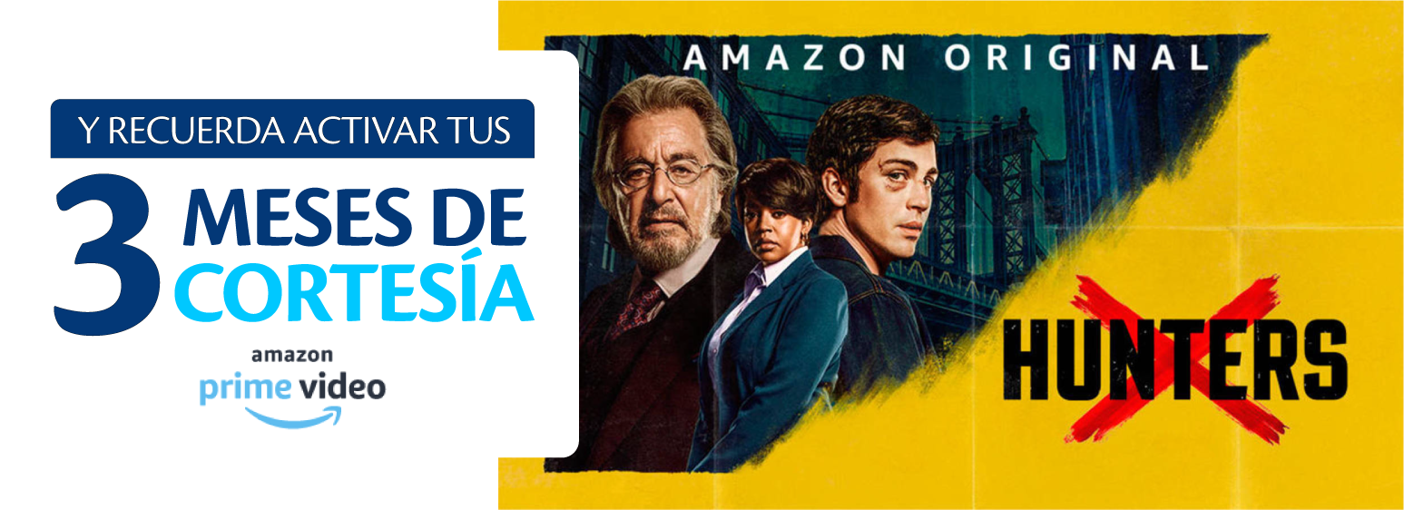Pago automatico de factura Tigo con promocion de Amazon Prime Video